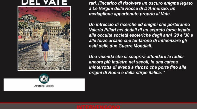 """Presentazione del libro """"L' occhio del vate"""" di Carlomanno Adinolfi, 29 febbraio, libreria Nuova Controcorrente di Napoli"""