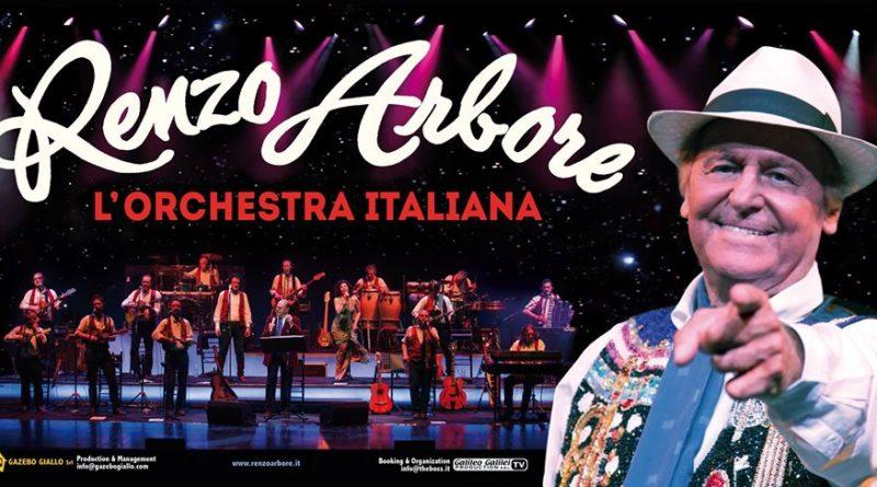 Renzo Arbore L'Orchestra Italiana il 16 e 17 maggio al Teatro Brancaccio di Roma