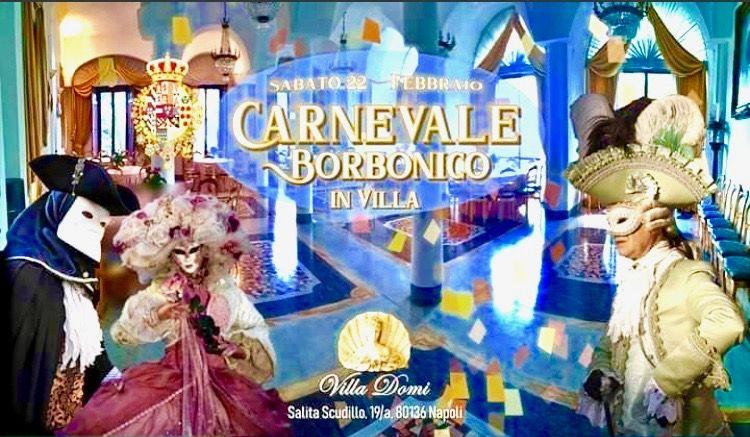 Gran Carnevale Borbonico a Villa Domi