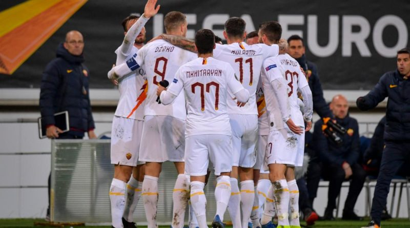 Europa League. Gent-Roma 1-1: I giallorossi passano agli ottavi