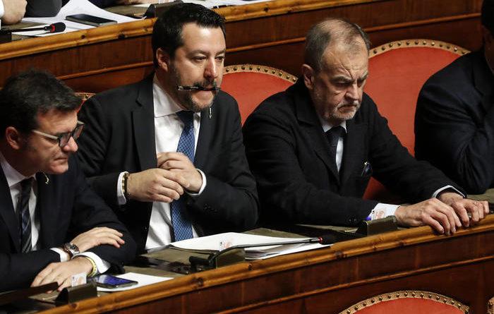 Salvini è l'emergenza sanitaria coronavirus