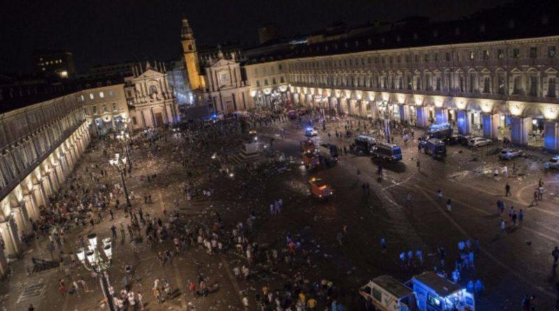 Torino. Caos in Piazza San Carlo durante la finale di Champions: nove rinvii a giudizio