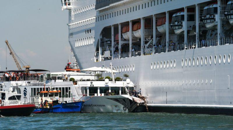 """Incidente nave Venezia, consulenti pm: """"Colpa della Msc Opera"""""""