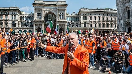 Antonio Pappalardo,  ex generale dei Carabinieri,  tra gilet arancioni e alieni…