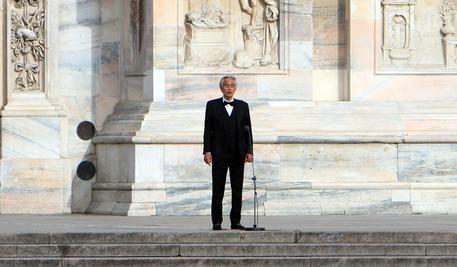Bocelli dona il plasma: 'Ho avuto il Covid'