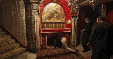 Betlemme, riaperta Basilica Natività