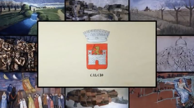 """CALCIO, il paese """"dipinto"""",   risponde alla crisi del turismo internazionale   e della cultura, con l'arte di strada    e le opere murali degli illustratori senza tempo"""