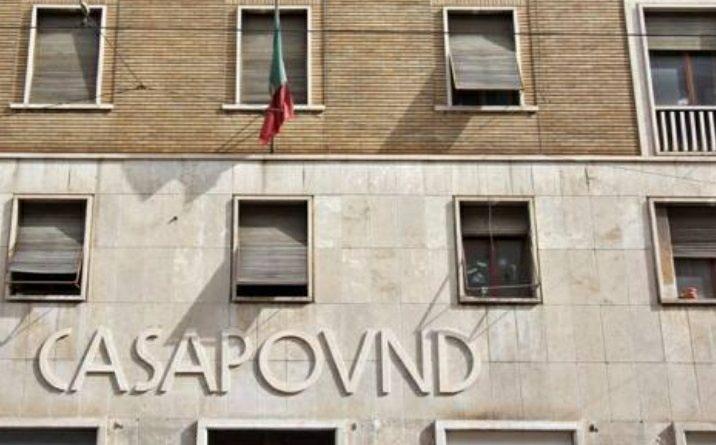 Firmato lo sgombero di Casapound