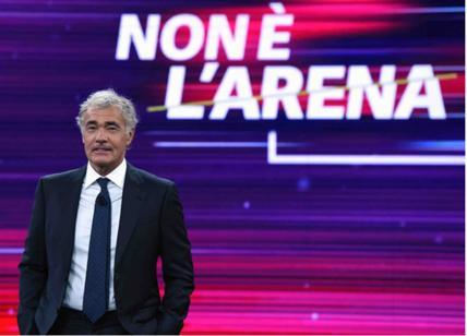 A 'Non è l'arena' super-intervista a Luca Palamara