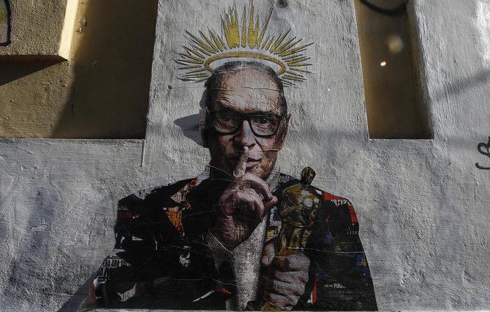 Murales a Trastevere celebra Morricone