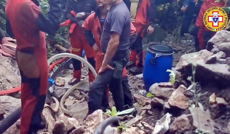 Trovato morto speleologo a Roccamorice, recuperata la salma