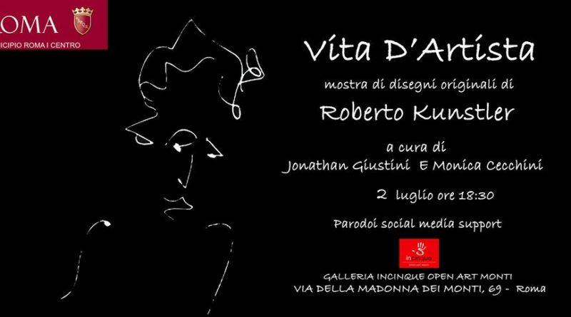Vita d'Artista, 2 luglio, 18:30,   Incinque Open Art Monti,  Via della Madonna dei Monti 69,  Roma