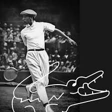René Lacoste, il leggendario tennista e stilista tre volte vincitore del Roland Garros