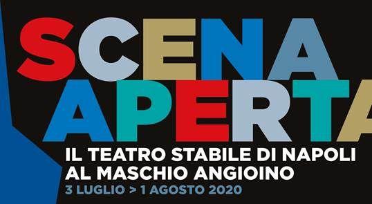 Mimmo Borrelli alla rassegna Scena Aperta al Maschio Angioino di Napoli