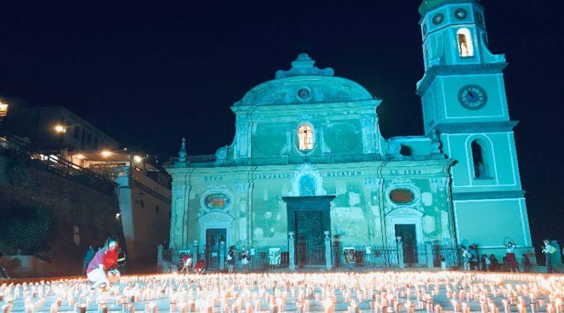 Luminaria di San Domenico: vince la partecipazione attiva dei praianesi