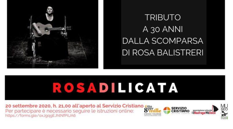 Omaggio a Rosa Balistreri a Riesi, oggi, ore 21:00