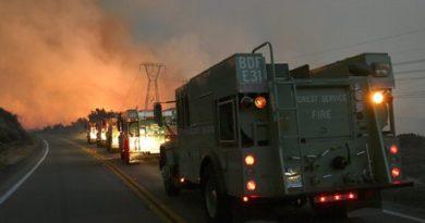 Incendi California: stato di emergenza in regione del vino