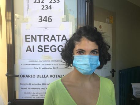 Ex malata Covid presidente seggio, 'Non ho paura'