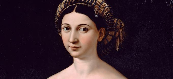 Tartaglia Arte: Come funziona la pittura di Raffaello? Misteri e indagini sulla Fornarina