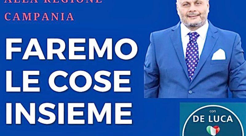 Regionali: 'Mario De Matthaeis, 25 anni in politica per la Campania'