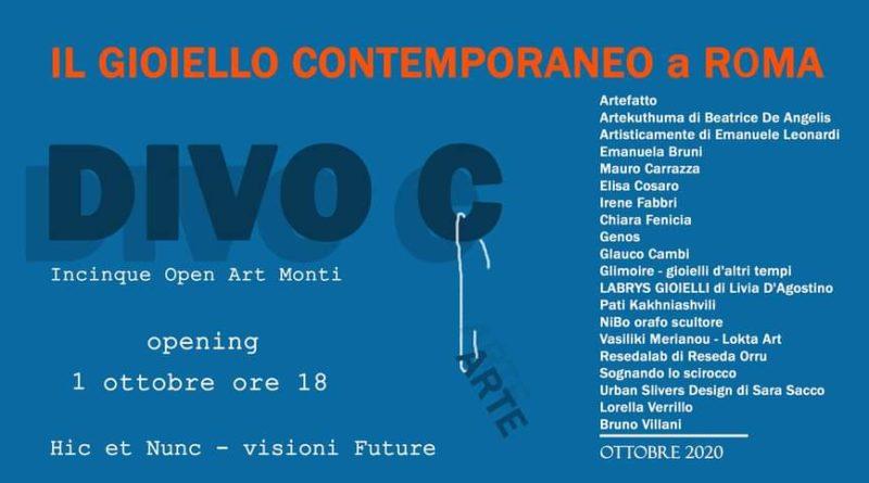 Mostra del gioiello contemporaneo 1 – 3 ottobre,  ore 16:00-21 Opening il 1 ottobre ore 18:00