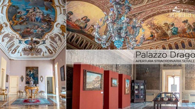 Sabato  31 ottobre dalle ore  10:00 alle 13:00, Palazzo Drago – Apertura straordinaria,  Palermo
