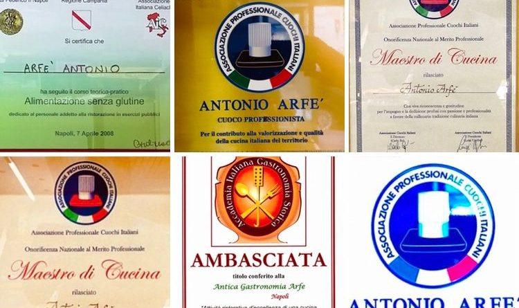 Celebrazioni 'in sicurezza' per i 150 anni di Arfè, storica gastronomia napoletana di eccellenza