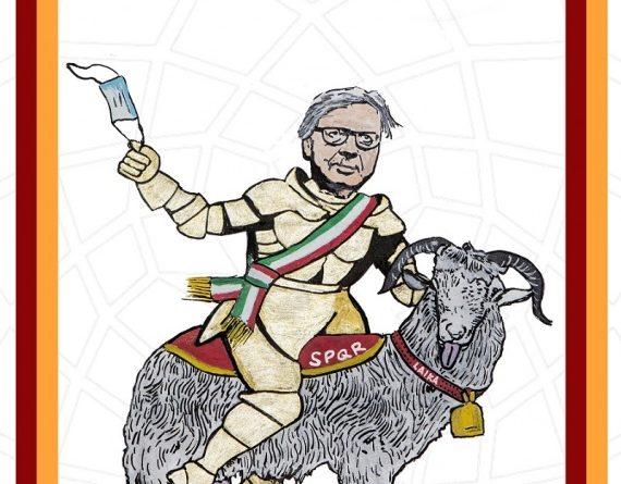 Cerca un messaggio Roma_Vittorio Sgarbi Sindaco di Roma: 'Make Roma Great Again' – L'ultima opera di LAIKA