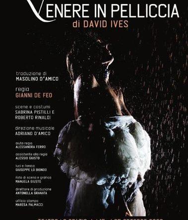 'Venere in pelliccia', di David Ives al Teatro Lo Spazio di Roma, ispirato al film di Roman Polansky