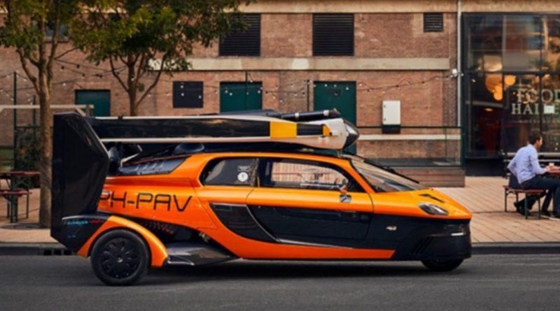 La prima auto volante al mondo arriva su strada