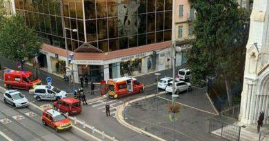 Attentato a Nizza, 3 morti