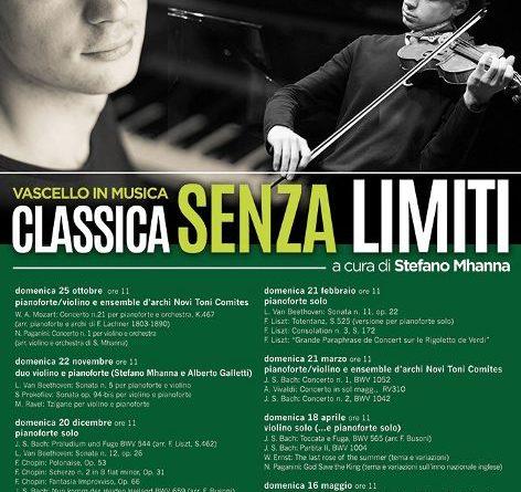 Vascello in musica: classica senza limiti  a cura di Stefano Mhanna dal 25 ottobre 2020