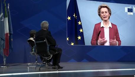 Von der Leyen, solo con riforme giuste Italia ripartirà