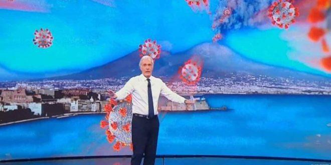Vesuvio erutta covid, tra l'ira napoletana,  e l'indifferenza di Giletti e De Magistris