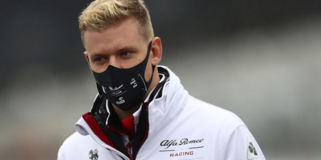 Uno Schumacher torna a correre in Formula 1
