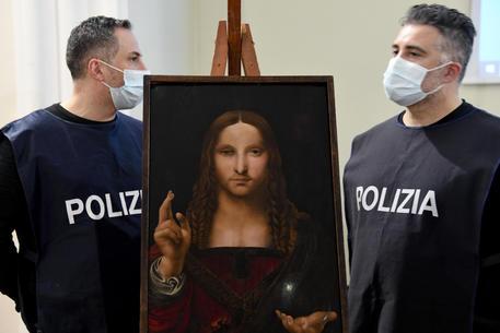 Polizia trova in casa a Napoli un importante quadro rubato