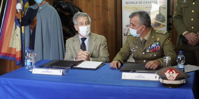 Convenzione UniSalento e Scuola Cavalleria Lecce