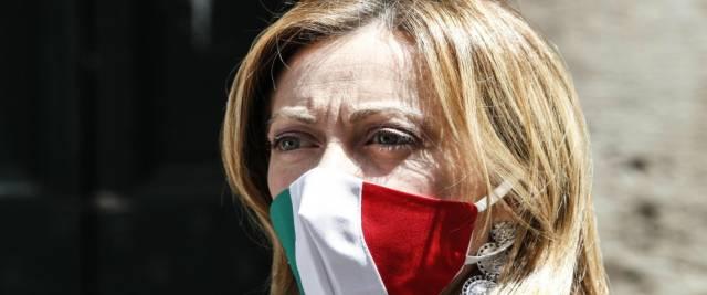 """Giorgia Meloni contro i Dpcm e Draghi: """"Non vedo discontinuità"""""""