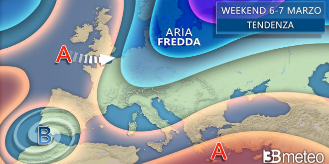 Meteo: Cambia tutto  da venerdì, tornano pioggia, neve e clima più freddo