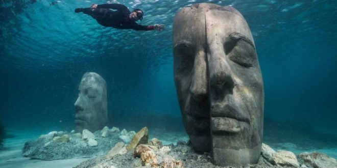 Tartaglia Arte: Al largo di Cannes, nasce il più grande ecomuseo sottomarino europeo