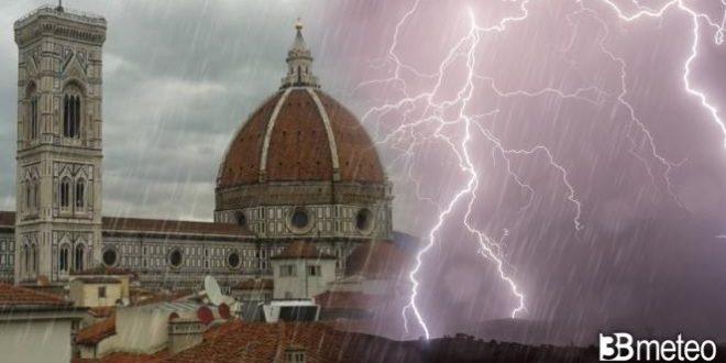 Meteo Nord Italia – non solo CALDO AFRICANO ma anche IMPROVVISI VIOLENTI TEMPORALI e GRANDINE, le aree a rischio
