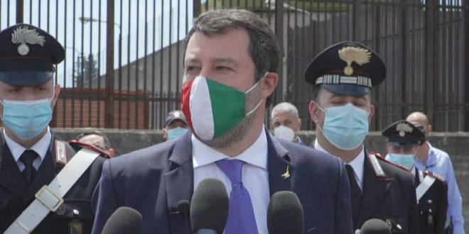 Matteo Salvini tra Nave Gregoretti e Carola Rackete