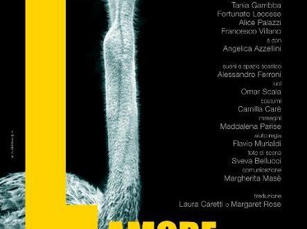 L'AMORE DEL CUORE di Caryl Churchil, regia Lisa Ferlazzo Natoli dal 15 al 23 maggio