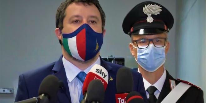 """Gregoretti, Gup: """"Non luogo a procedere Salvini, fatto non sussiste"""""""
