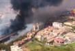 Incendi: Catania brucia, case evacuate, distrutto lido