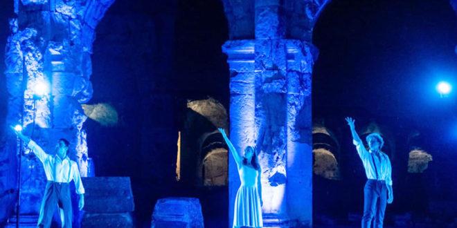 """Ultimi due appuntamenti di """"Teatri di Pietra in Campania 2021"""", nel sito archeologico del Teatro Romano di Teano"""