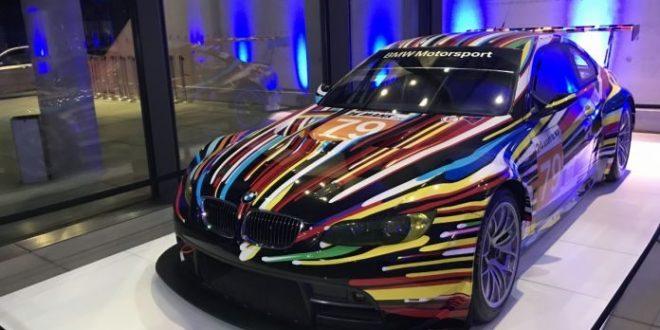 Nuova auto firmata Jeff Koons per la BMW nel suo 50ennale di impegno culturale globale