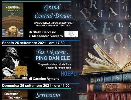 25-26 SETTEMBRE teatro Tin Napoli presentazione libri