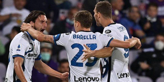 Seria A. Inter vince a Firenze e ritorna in vetta alla classifica